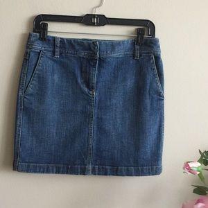 Loft Jean Skirt!! Size-0